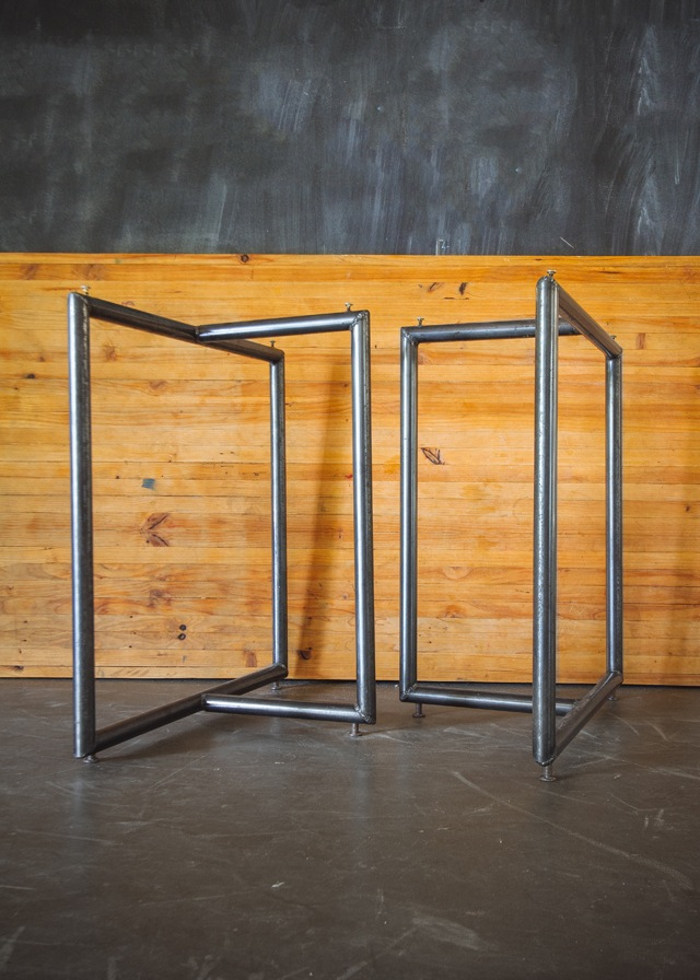 CUSTOM STEEL TABLE LEGS Design Build Adventure