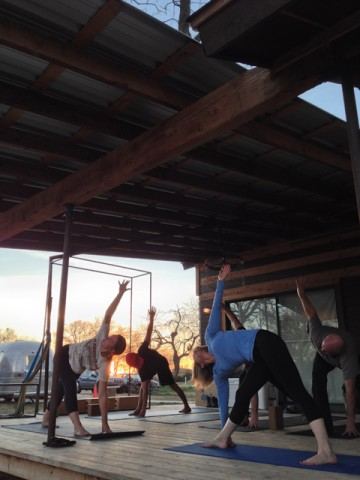Yoga and Welding